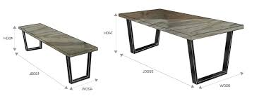 Standard Size For  Seater Dining Table Bedroom And Living Room - Standard size dining room table