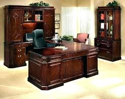 Solid wood computer desks Cool Solid Wood Computer Desk With Hutch Fancy Shaped Office Desks Corner Dark Tigerbytes Solid Wood Computer Desk With Hutch Fancy Shaped Office Desks
