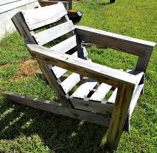 easy how to build your own best pallet chair plan