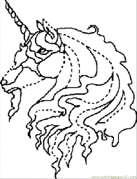 Coloring Pages Unicorn Dot To Dot Sheet 2 Cartoons Unicorn