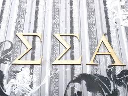 small wooden greek letters custom wood sigma alpha sorority