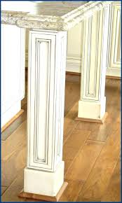 wooden legs for kitchen islands island cabinet wood