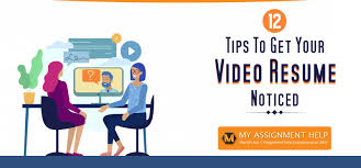 Video Resume Tips Get Your Video Resume Noticed 12 Tips Explained