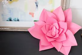 Paper Art Flower 28 Fun And Easy To Make Paper Flower Projects You Can Make