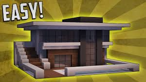 Small Picture Minecraft How To Build A Small Modern House Tutorial 9 YouTube