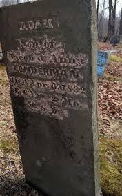 Adam Conderman (1826-1832) - Find A Grave Memorial