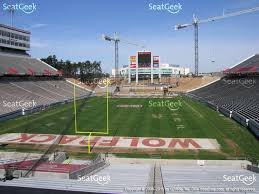 Carolina Stadium Seating Chart Nc State Carter Finley Stadium Seating Chart