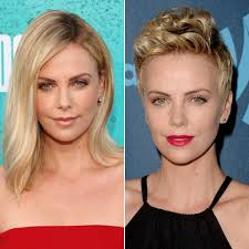 Charlize Theron Short Hair Style celebrities with long and short hair popsugar beauty 5717 by wearticles.com