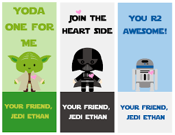 Free printable star wars valentine's day cards are the perfect way to celebrate valentine's day! Free Star Wars Printable Valentines A Grande Life