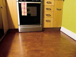 Small Kitchen Flooring Small Kitchen Installed Modern Cabinets And Appliances And Using