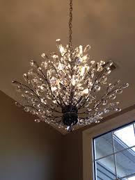 foyer chandelier branch of light design joshua marshall home in crystal branch chandelier 7
