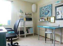 office wall colors ideas. Office:Cute Home Office In Interior With Cream Wall Color Idea Cute Colors Ideas