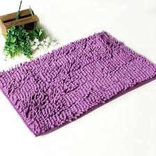 chenille bathroom rugs bath non slip absorbent mats x inch purple vintage rug chenille bathroom rugs