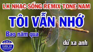 Liên Khúc Karaoke Nhạc Sống Remix Trữ Tình Tone Nam | Tôi Vẫn Nhớ | Bạc  Trắng Tình Đời - Dễ ca nhất cho nam và nữ - #1 Xem lời bài hát