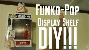 funko pop display shelf diy