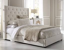 Tufted Upholstered Bed eoscinfo