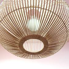 Grote Design Hanglamp Van Bamboe Store Without A Home
