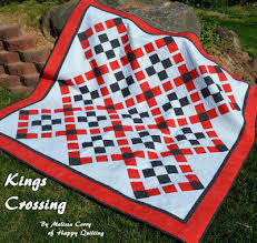 Happy Quilting: Kings Crossing - A Finish and Tutorial!! & A little while back I was asked by the wonderful folks at Ink and Arrow  Fabrics if I would like to make a quilt with some of there beautiful  fabrics. Adamdwight.com