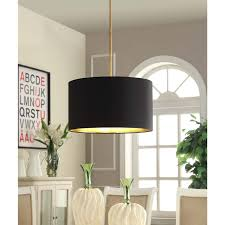 gold foil lined pendant with black shade ping great deals on chandeliers pendants