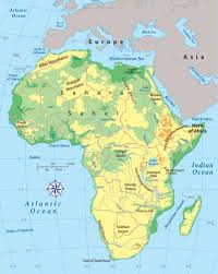 africa physical map ile ilgili görsel sonucu africa physical map