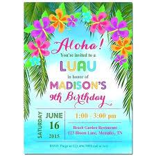 Hawaiian Themed Wedding Invitations Themed Invitations Retro