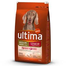 Animalerie Ultima Medium Maxi Senior Poulet Pour Chien 2 X