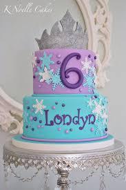 Frozen Theme Cake By K Noelle Cakes Girl Character Cakes Frozen