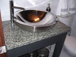 sinks bowl bathroom sinks rectangle vessel sink stainless steel bowl mosaic table glamorous bowl