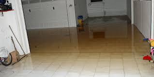 water coming up through my basement floor