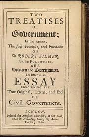 two treatises of government  locke treatises of government page jpg