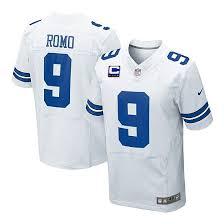 Shop - White Cowboys Romo Tony Jersey