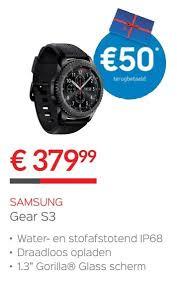 samsung gear s3 promotie