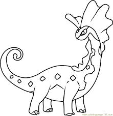 Aurorus Evolution Pokemon Coloring Pages
