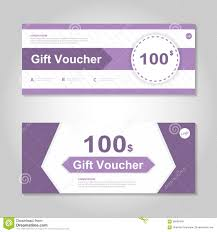 cute gift voucher certificate coupon design template stock vector cute purple gift voucher template layout design set certificate discount coupon pattern for shopping royalty