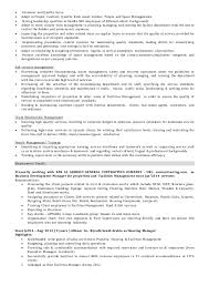 operations manager cv facilities operations manager cv