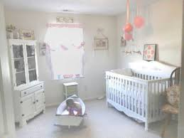 Distressed Tables Shabby Chic Baby Girl Nursery Monochromatic Black White  Colours Ceiling Hangings Mobiles Toys