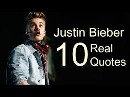 Real Life Quotes Inspiration Justin Bieber 48 Real Life Quotes On Success Inspiring