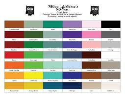 Miss Lillian S Chock Paint Color Chart Miss Lillians No Wax Chock Paint Now Available At Reblessed