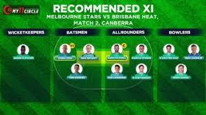 Afl fans cringe at lowly crowd for demons vs. Melbourne Stars Vs Brisbane Heat Bbl 2020 21 Fantasy Pick Team Predictions