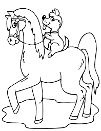 Horses are gorgeous creatures symbolizing dynamism, spiritedness and innocence. Free Printable Horse Coloring Pages For Kids