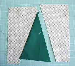 Modern Christmas Tree Quilt Block Tutorial - Diary of a Quilter ... & sew Christmas Tree quilt block Adamdwight.com
