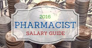 Pharmacy Charts 2018 2016 Pharmacist Salary Guide