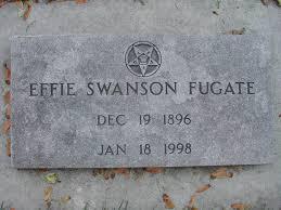 Effie Swanson Fugate (1896-1998) - Find A Grave Memorial