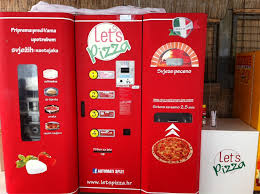 Vending Machine Pizza Interesting This Vending Machine Spits Out Oven Baked Pizzas With Your Own
