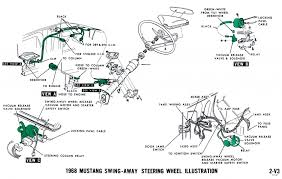 1968 mustang wiring diagrams and vacuum schematics average joe Ford 302 Ignition Wiring Diagram 1968 mustang vacuum diagram steering wheel