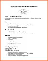 Medical Receptionist Resume Examples Sample No Experience