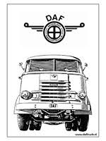 Daf Vrachtwagen Kleurplaten Zonder Reclame