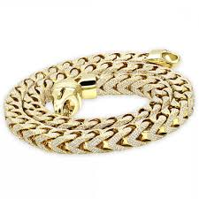 iced out jewelry real diamond hip hop jewelry solid k gold iced out diamond franco
