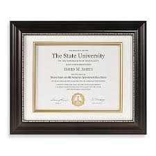 diploma certificate frames bed bath beyond image of photoguard 8 5 inch x 11 inch x document frame
