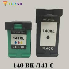 <b>vilaxh</b> 140xl Compatible Ink Cartridge Replacement for <b>HP</b> 140 141 ...